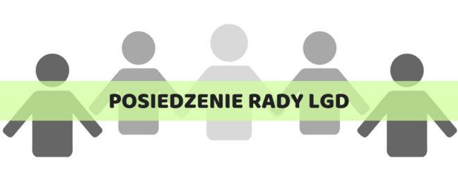 POSIEDZENIE RADY LGD – 28 maj 2018 r. (poniedziałek) o godz. 17.00