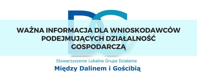 Ulga na start dla podejmujących działalność gospodarczą w ramach poddziałania 19.2