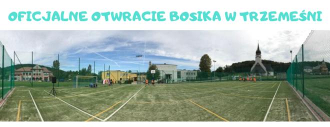 Nowe boisko w Trzemeśni oficjalnie otwarte!