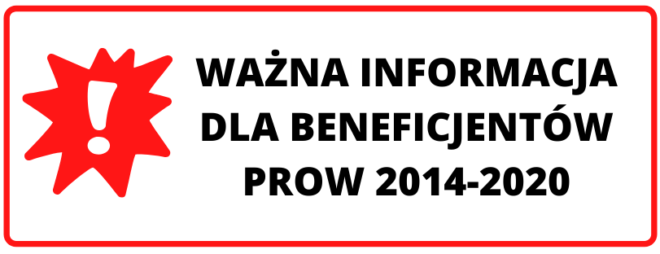 Komunikat dotyczący trybu konkurencyjnego w ramach PROW 2014-2020