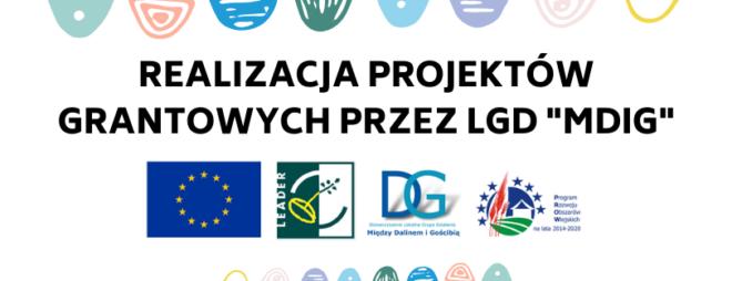 """Realizacja projektów grantowych przez LGD """"Między Dalinem i Gościbią"""""""