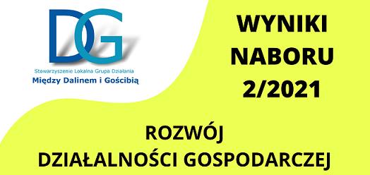 WYNIKI NABORU 2/2021- rozwój działalności gospodarczej