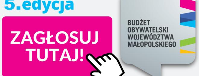 Budżet Obywatelski Małopolska 2021. Ruszyło głosowanie!